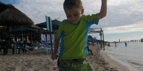 Cole on Beach