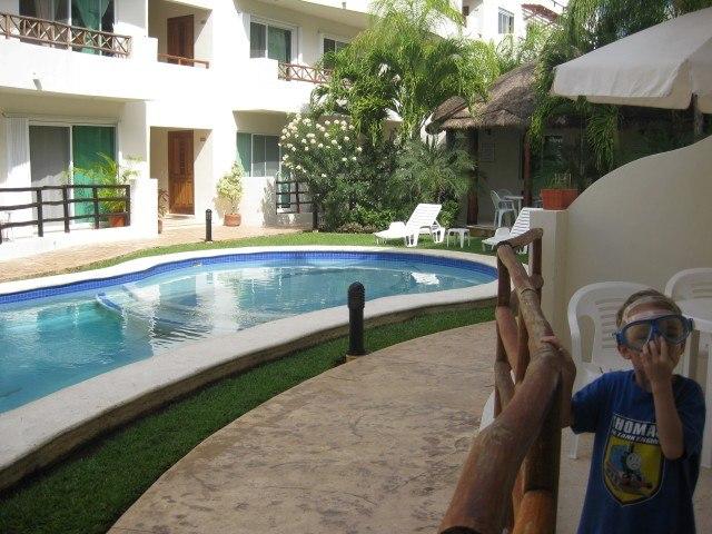 Pool at Margaritas Condo Playa del Carmen