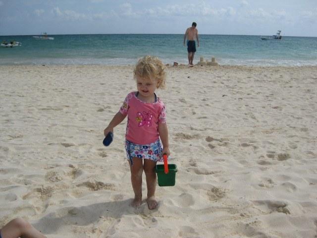 White Sand at Mamitas Beach Playa del Carmen