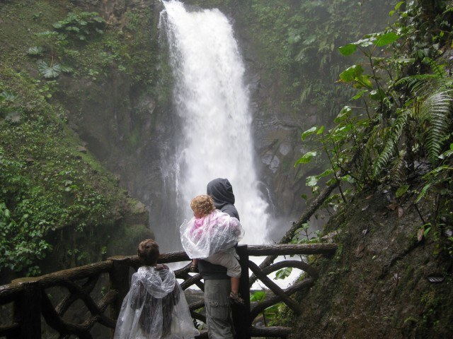 Soaked to the Bone at La Paz Waterfall Gardens Costa Rica