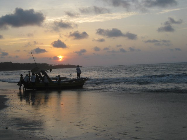 Tamarindo Beach at Sunset in Costa Rica