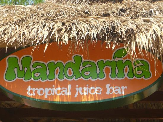 Mandarina Tropical Juice Bar