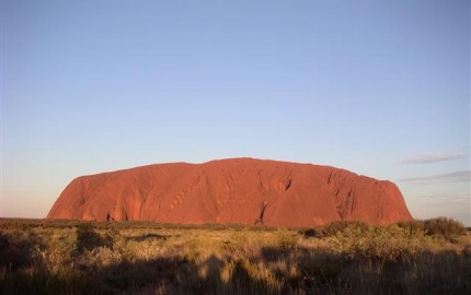 Ayers Rock, Uluru, Australia at Sunset
