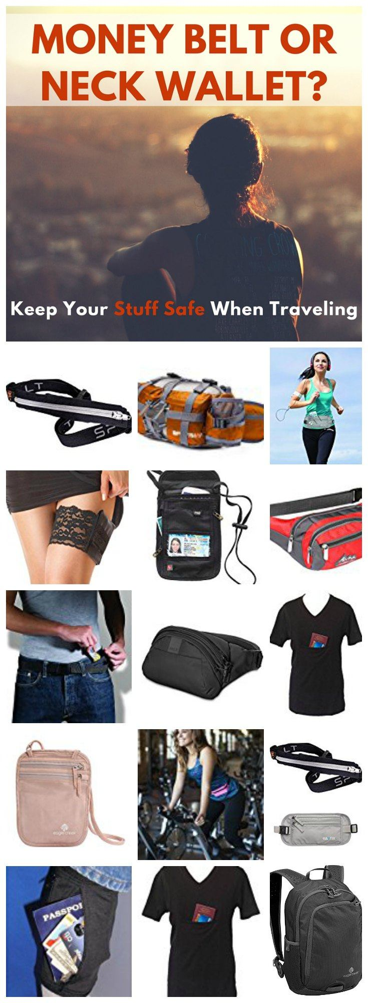 Money Belt or Neck Wallet - Reviews and Alternatives to Keep Your Stuff Safe When Traveling