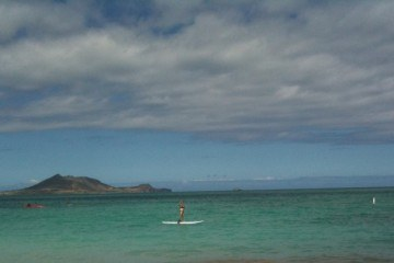 Micki vs Stand Up Paddle Boarding Kailua SUP