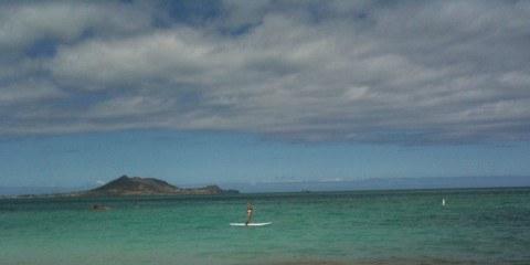 Micki vs Stand Up Paddle Boarding Kailua SUP