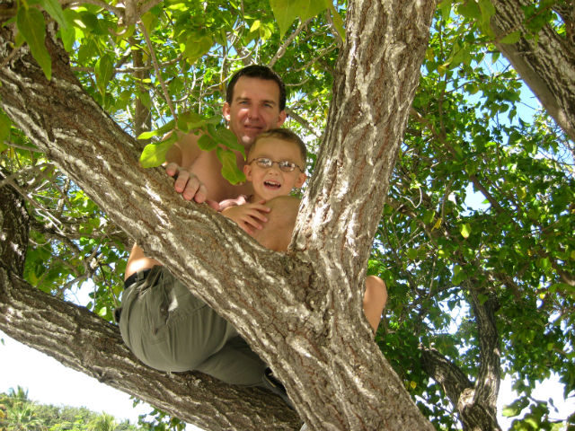 Travel With Kids is Amazing Quality Time in Tree