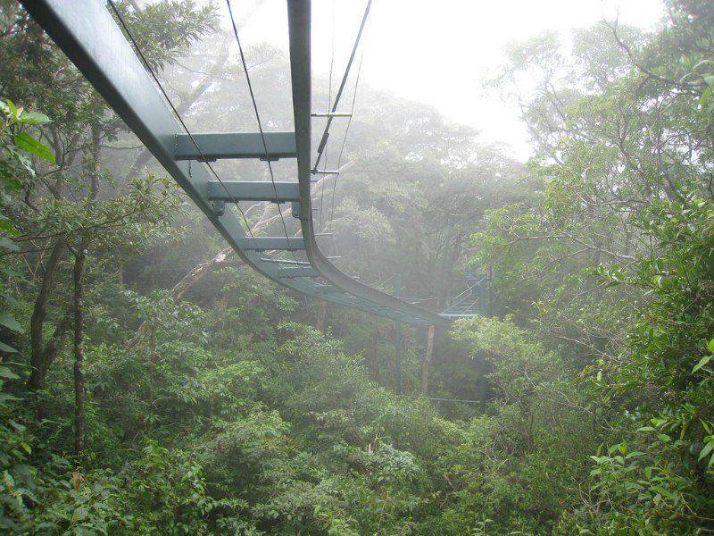 Monteverde Cloud Forest Aerial Tram by toomim on Flickr