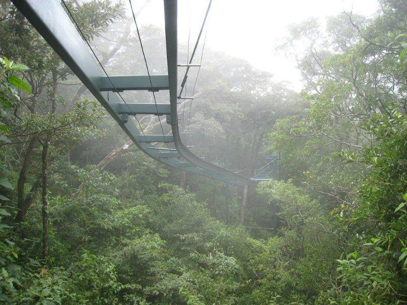 Monteverde Cloud Forest Aerial Tram by toomim on Flickr