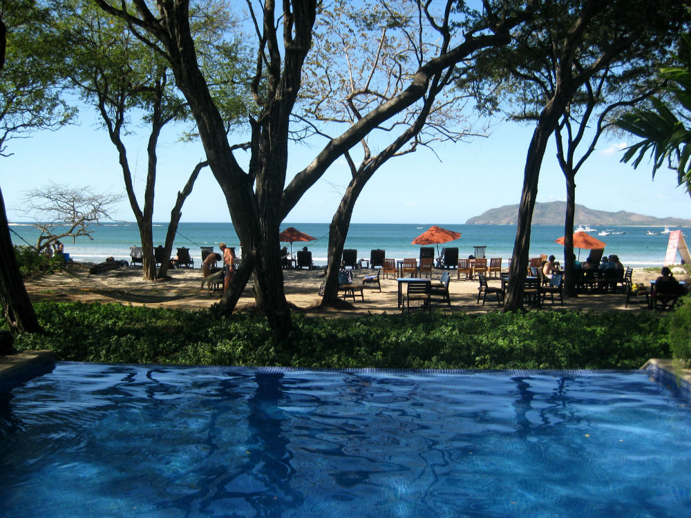 Ocean View from the Pool at the Longasta Beach Club Costa Rica Barefoot Nomads