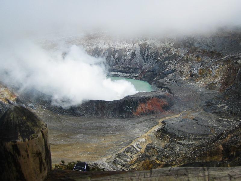 Poas Volcano in Costa Rica
