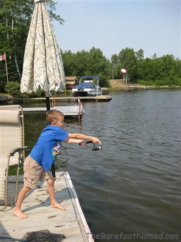 Casting from the Dock