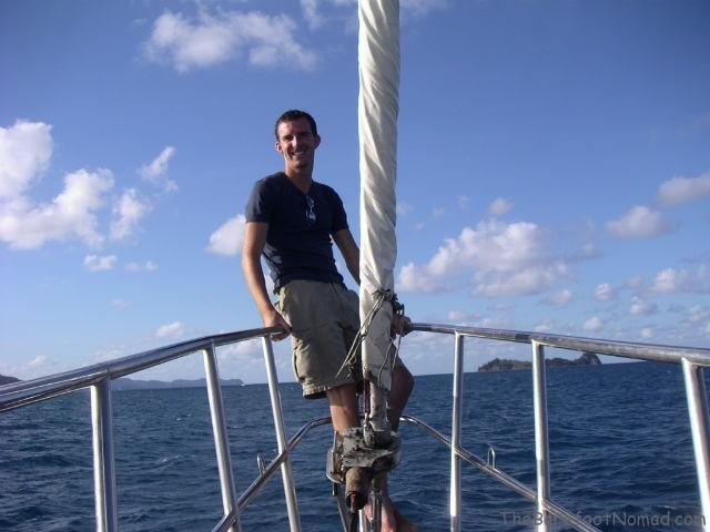 Charles Kosman as Yacht Crew Travel Job