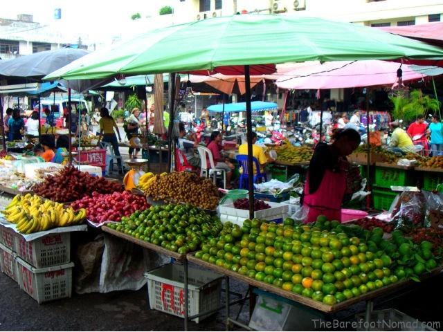 Fruit at Street Market in Thailand