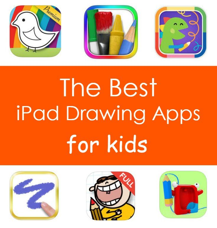 The best iPad Drawing Apps for Kids