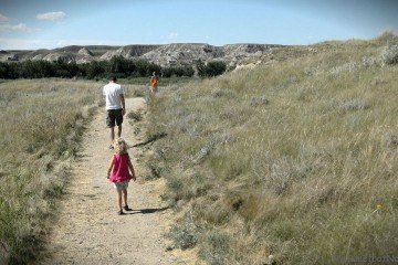 Walking The Badlands Trail Dinosaur Provincial Park