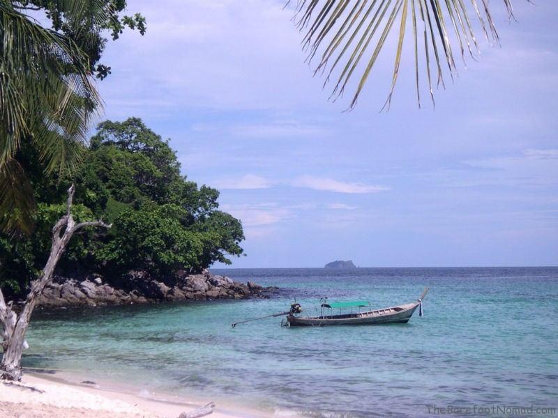 Green Beach at Ko Phi Phi Thailand