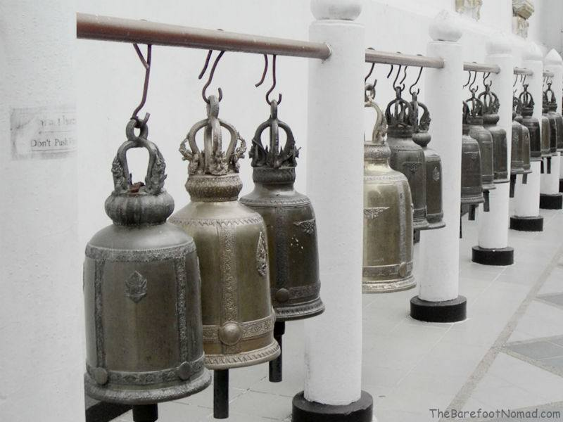 White Temple Bells in Chiang Mai
