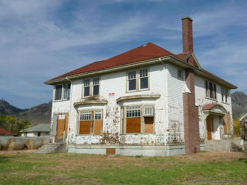 Abandoned superintendent's house at Tranquille Padova City Kamloops