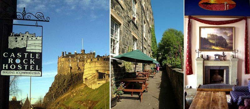 Castle Rock Hostel in Edinburgh, Scotland