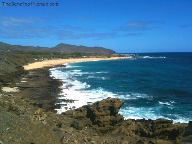 Drive Around Oahu Beautiful Shoreline Ocean
