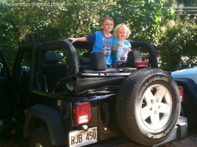 Loving the Jeep