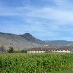 Meadowview dormitory across the corn maze at Tranquille Padova City Kamloops