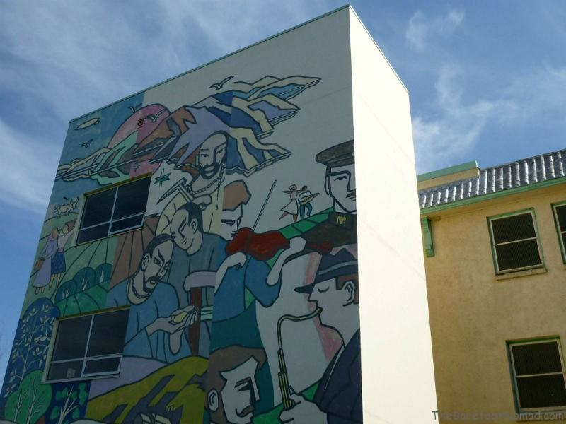Mural from Padova Days on the Tranquille Historic Tour