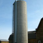 Restored Silo and Calf Barn Tranquille Farm Fresh