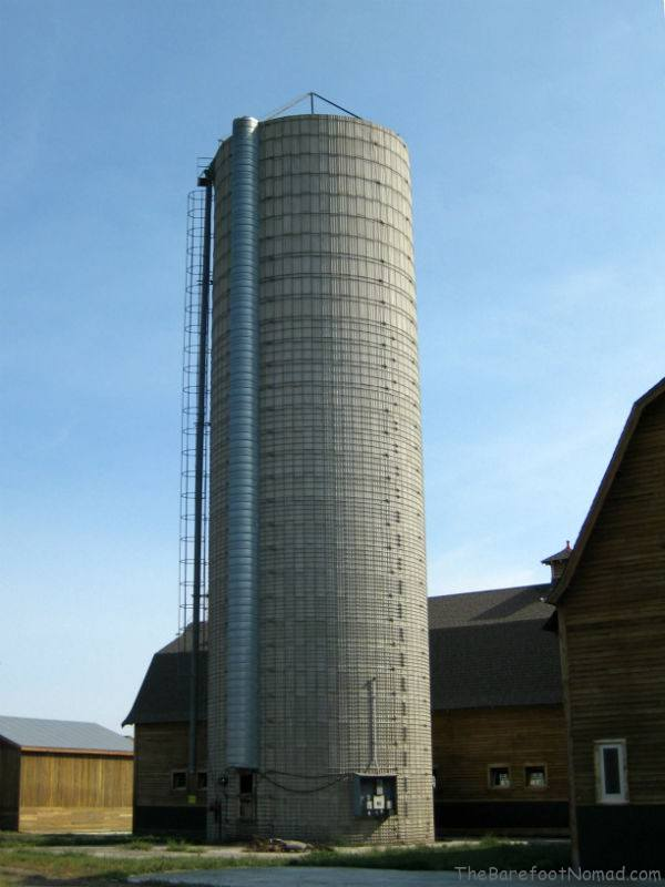 Restored Silo and Calf Barn Tranquille Farm Fresh
