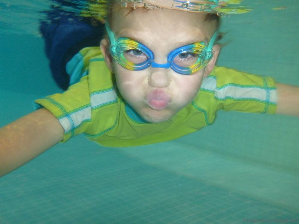 Swimming Underwater Panasonic Lumix DMC-TS4 Sample Underwater Photo