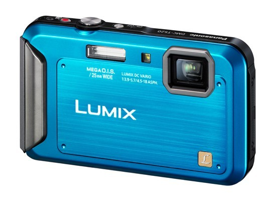 Panasonic Lumix DMC TS4 Blue Review