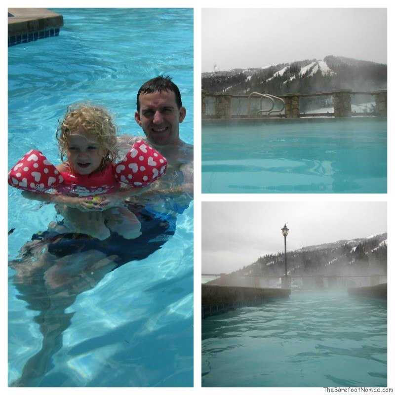 Hot Pool at the Delta Sun Peaks Resort