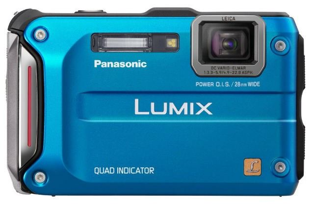 Panasonic Lumic DMC TS4 Review Hands on Waterproof Camera Affordable