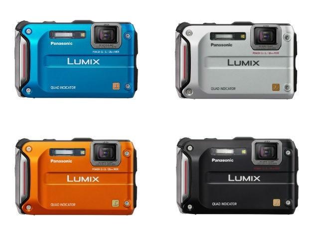 Panasonic Lumix DMC TS4 Colors Ruggedized review