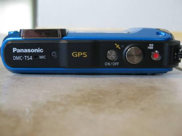 Buttons on top of Panasonic Lumix TS4