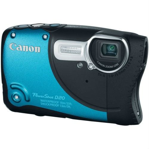 Canon d20 waterproof camera christmas gift guide