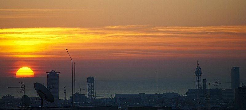 Barcelona at Dawn