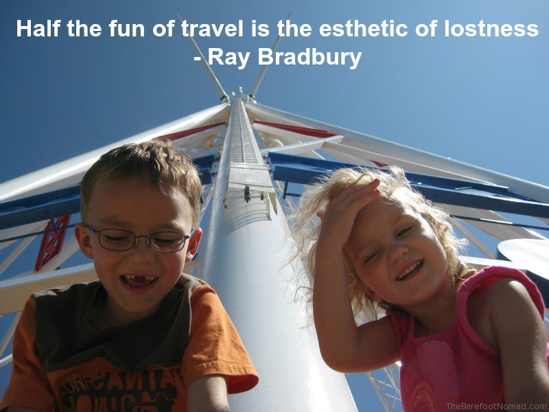 Medicine Hat TeePee Kids Laughing Alberta Travel Inspiration Quote
