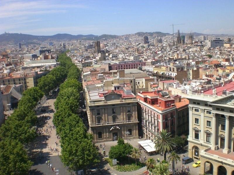 Las Rambas Barcelona