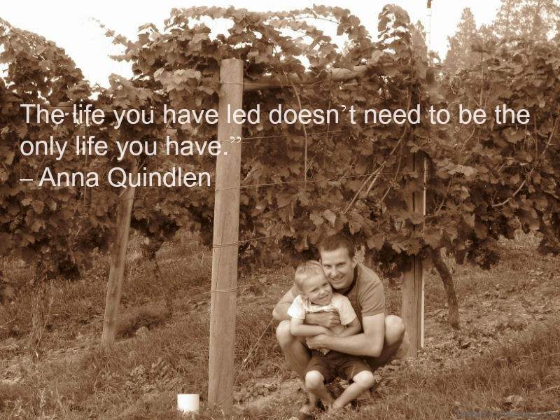 Quindlen Grey Monk Winery Kelowna Canada Travel Quote Inspiration