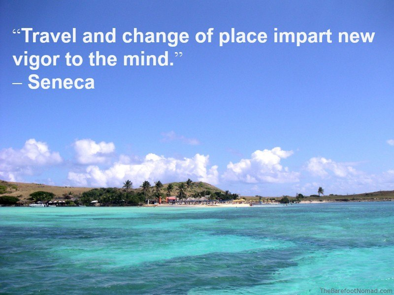 Seneca St Martaan Coastline Travel Inspiration Quote