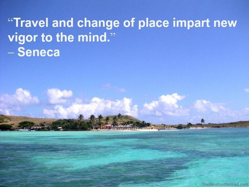 Seneca St Martaan Coastline Travel Inspiration Quote
