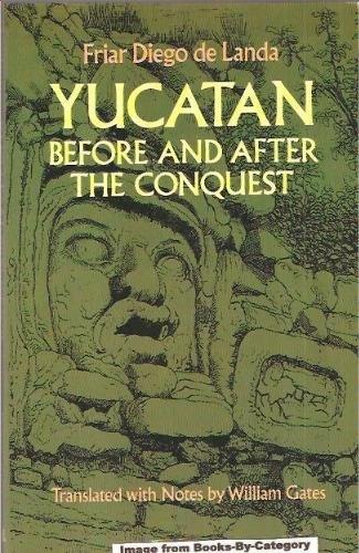 """""""Relacion de las cosas de Yucatan,"""" by Diego de Landa."""