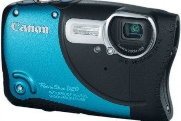 Canon D20 Waterproof Camera