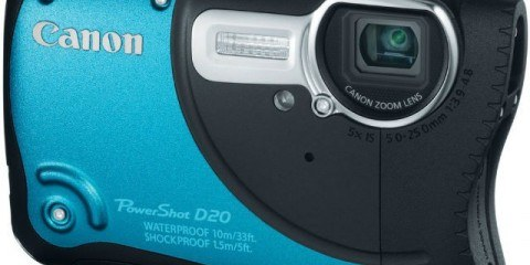 Canon D20 Waterproof Camera