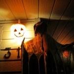 Low light Halloween Decoration Canon D20 Test Photos Review