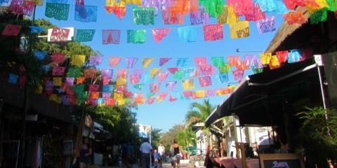 Playa del Carmen Mexico Quinta Aveneda Feliz Navidad