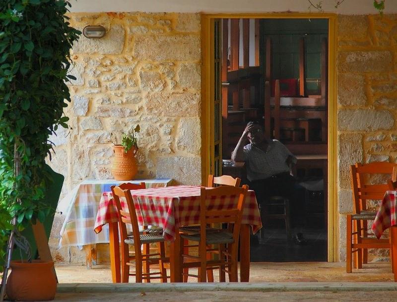 Taverna in Gavalochori Village