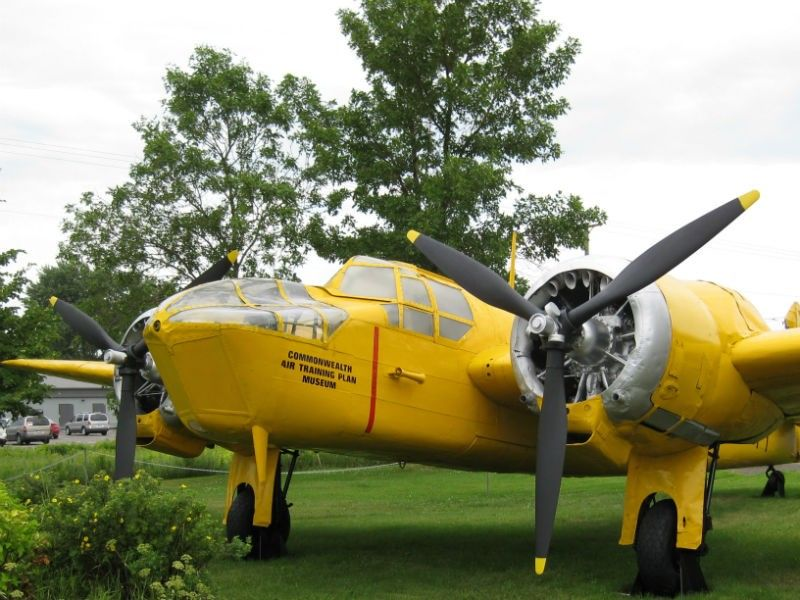 Yellow Airplane Brandon Manitoba Comfort Inn